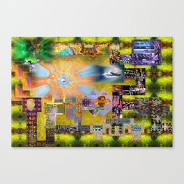 How I Spent my Summer Vacation Canvas Print