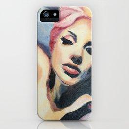 LadyGaga takes a Selfie iPhone Case