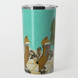 foxy days lets tandem Travel Mug