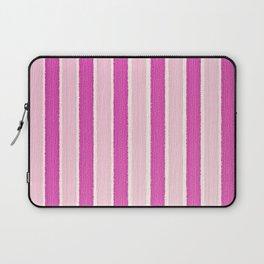 Pink Stripes Laptop Sleeve