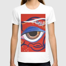 Doves flying in my mind T-shirt