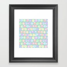 Pastel Abstracts 2 Framed Art Print