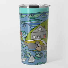 View from Casco Bay Travel Mug