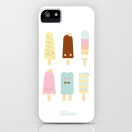Icecreams all over iPhone Case