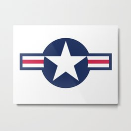 US Air force insignia HD image Metal Print