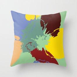 Spring Bleeding No.4 Throw Pillow