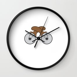 Cutting Carbs T-shirt design for everyone who wants to do dieting! Wall Clock
