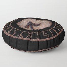 Tiwaz - Elder Futhark rune Floor Pillow