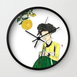 Mi-in-do 1700s_Solnekim Wall Clock