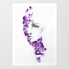 Petali Art Print