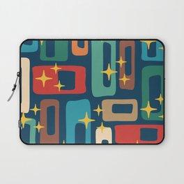 Retro Mid Century Modern Abstract Pattern 221 Laptop Sleeve