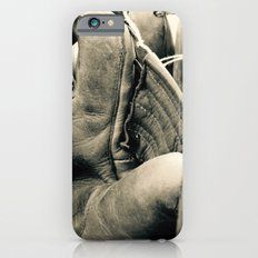 Vintage Baseball Gloves iPhone 6s Slim Case