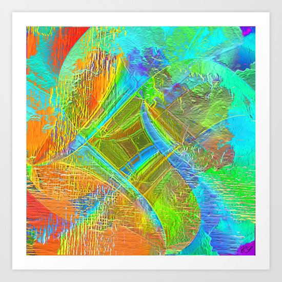 """ Whirlwind of life ""  Art Print"