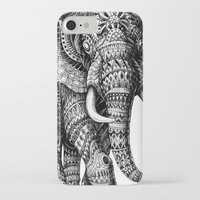 ornate iPhone & iPod Cases featuring Ornate Elephant v.2 by BIOWORKZ