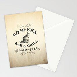 Road Kill Bar & Grill Stationery Cards