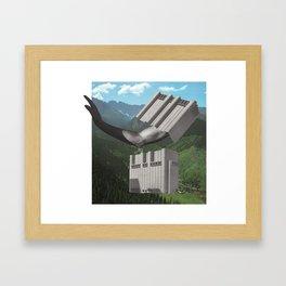 153 - a little closer Framed Art Print
