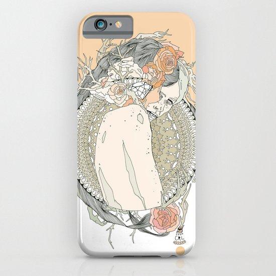 blackened doily iPhone & iPod Case