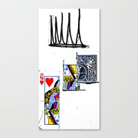 crown Canvas Prints featuring crown by Keith Cameron