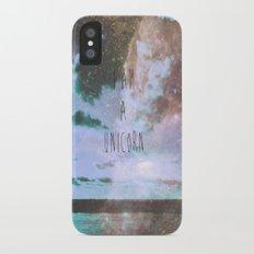 unicorn tears iPhone X Slim Case