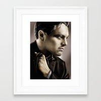 leonardo dicaprio Framed Art Prints featuring Leonardo DiCaprio by Duke78
