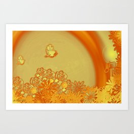 Letter To You Art Print