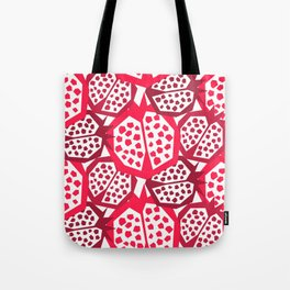 Pomegranate Patterns Tote Bag