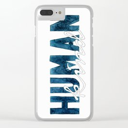 Humankind Clear iPhone Case