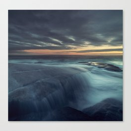 Spilling over the Point Canvas Print