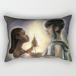 Chalice and Blade Rectangular Pillow