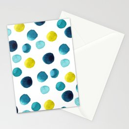 Polka Dot Beach Party Stationery Cards