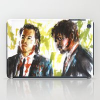 pulp fiction iPad Cases featuring Pulp Fiction by Miquel Cazanya
