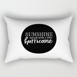 Sunshine Mixed With A Little Hurricane Rectangular Pillow