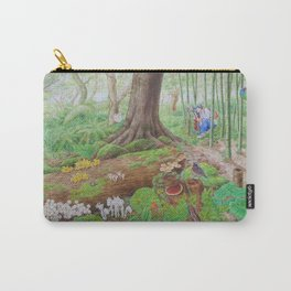 A Day of Forest (4). (the lake ecosystem) Carry-All Pouch