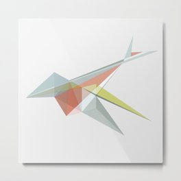 SWIFT BIRD Metal Print