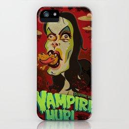 Vampire Hurl iPhone Case