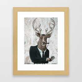 Big Bucks Framed Art Print
