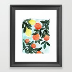 Dear Clementine Framed Art Print