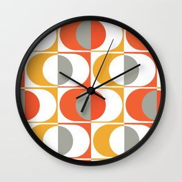 Eyes Of The 70's Wall Clock