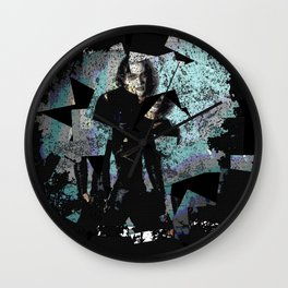 It Can't Rain All The Time Crow Wall Clock