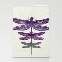 dragonfly Stationery Cards featuring Dragonfly  by rskinner1122