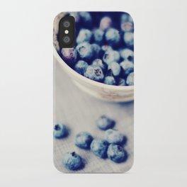Fresh Blueberries Kitchen Art iPhone Case