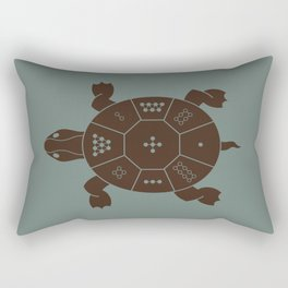 Lo Shu Turtle Rectangular Pillow