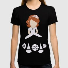 Sofia the First MEDIUM Womens Fitted Tee Black