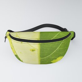Leaf with abstract patterns 1 Fanny Pack