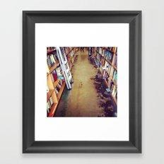 powell's. Framed Art Print