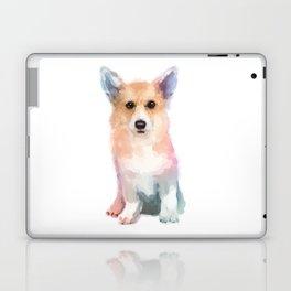 Corgi watercolor Laptop & iPad Skin