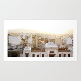 The First Sunsetting Art Print
