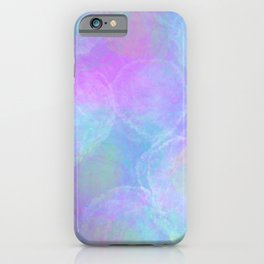 Tie Dye Pastel Neon Pattern Home Goods Clothing iPhone Case