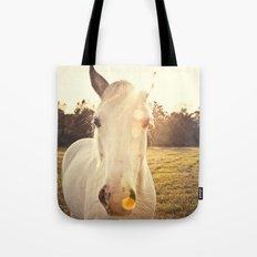 Sunlit Horse Tote Bag