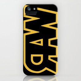 RAW iPhone Case